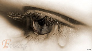 a nő könnye