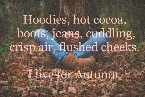 őszi szöveges bakancsos kép