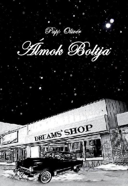 Álmok boltja borító