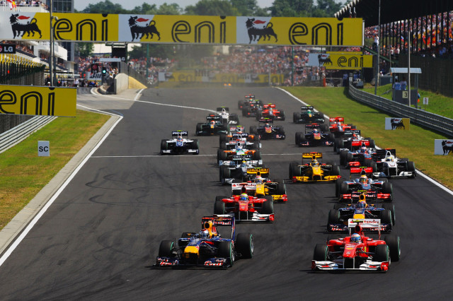 F1 Hungarian Grand Prix - Race