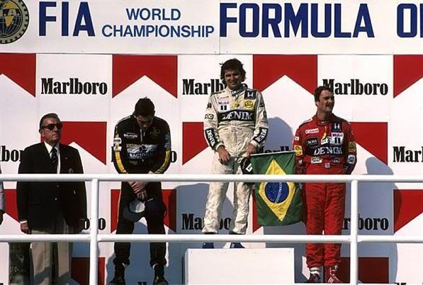 Nelson Piquet az első 1986