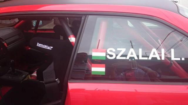 Szalai Laci nagy autókép