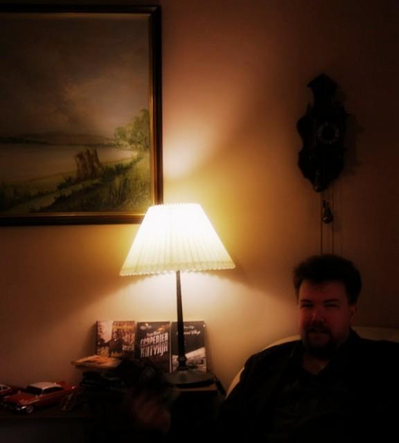 Oli álló homály lámpa