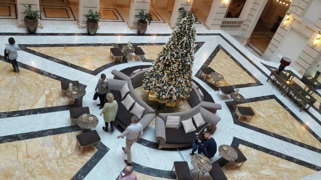 Karácsonyfa fekvő