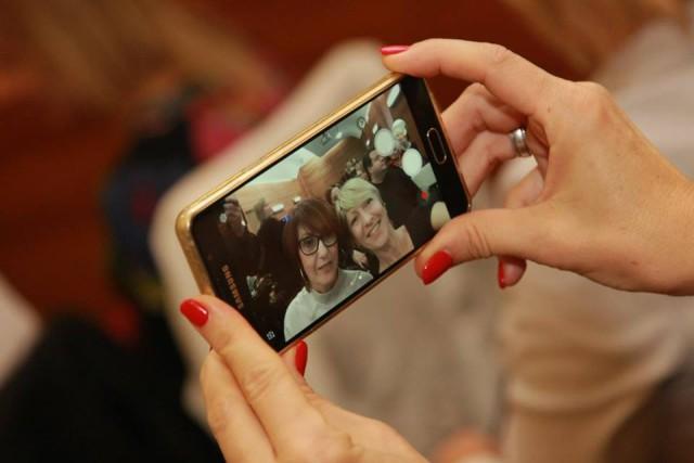 Selfi a képben